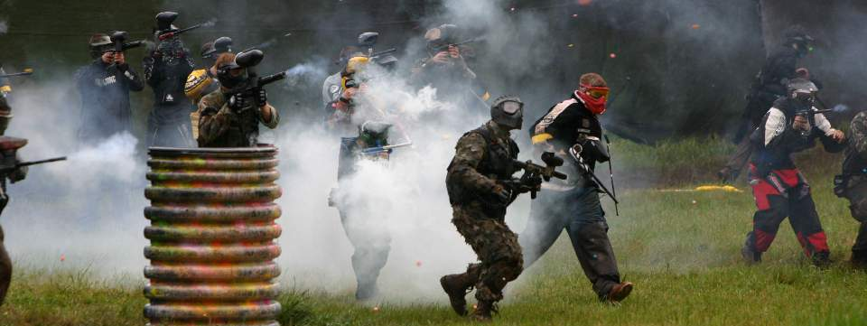 Fog of War for Paintball Parks