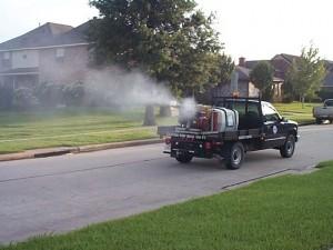 Municipal Mosquito Control Fogging